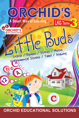 First Learning Books Series - Orchids Little Buds LKG Term 3 Book