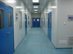 Fire-Rated Cleanroom Doors
