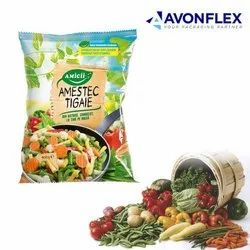Plastic Laminated Vegetable Packaging Pouch