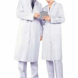 Cotton Hospital Doctor Coat, Packaging Type: Packet