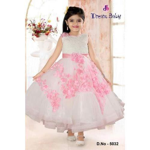 b27228a54ab06 Party Wear Kids Stylish Gown, Size: Small, Rs 1695 /piece | ID ...