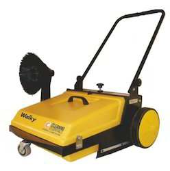 Mechanical Walky Road Sweeper