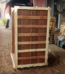Crate With Plywood Coating