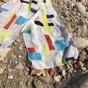 Printed Tassel Scarves