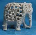 Soapstone  Decorative Elephant  Statue