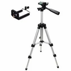 Tripod with Mobile Clip Holder Bracket, Stand