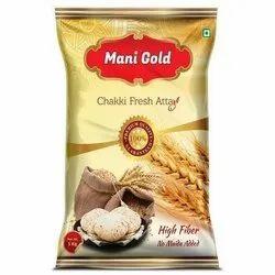 Mani Gold优质Chakki新鲜ATTA,5 KG25KG,包装类型:包