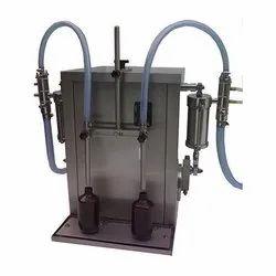 Twin Head Volumetric Liquid Filling Machine