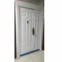White STEEL Double Door