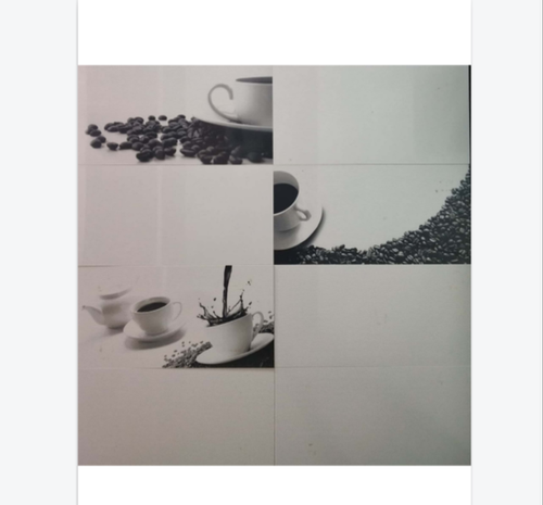 Ceramic Cup Plate Printed Kitchen Wall Tile Packaging Type Carton Box Thickness 12 14 Mm Rs 40 Square Feet Id 21681583330
