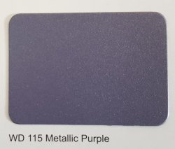 Wd 115 Metallic Purple Colours ACP Sheets