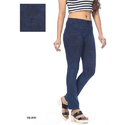 Plain Casual Denim 4 Way Lycra Jegging