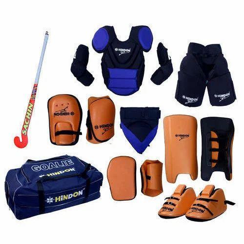 Hindon Hockey Goal Keeper Kit, Rs 16000 /kit AR- Vee International | ID:  20035577662
