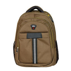 Infinit Laptop Backpack Dark Goldenrod Color