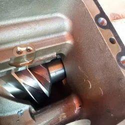 Screw compressor overhauling