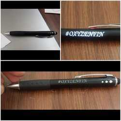 Plastic LED Name Pens