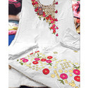 White Embroidery Suit