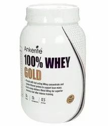 Whey Protein Chocolate Ankerite 100% Whey Gold, Packaging Type: Plastic Container