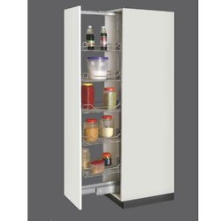 Stainless Steel Pull Out Kitchen Pantry