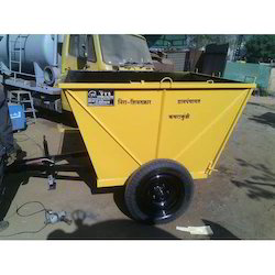 Trolley Mounted Garbage Bin