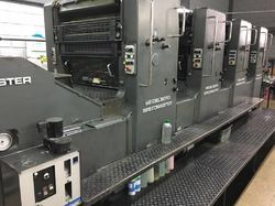 1987 Heidelberg Sm 72 v 4 Color Speedmaster 72 Used Printing Machine