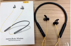 Wireless Black Realme Bluetooth Headset