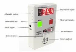 Mini Thermo Detector Alarm Machine For Temperature Checking And Display From Human Body