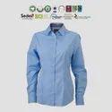 GOTS Organic Cotton Ladies Full Sleeve Shirts
