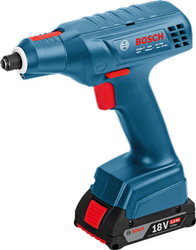 Blue 1.5-8 Bosch Exact-Ion 8-1100 Cordless Screwdriver, 550-1100rpm, 1.3kg