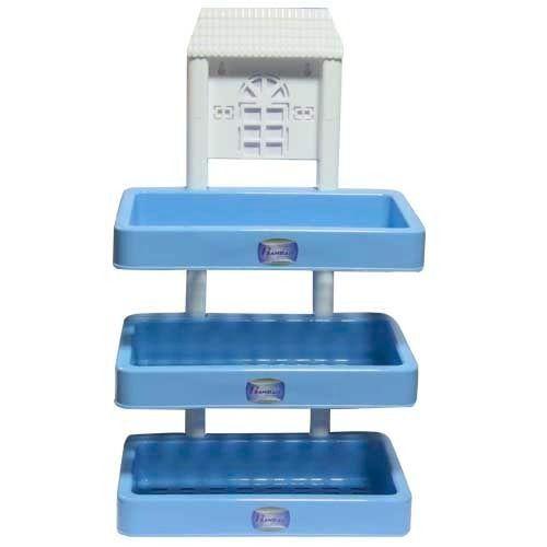 Blue Plastic Bath Rack, Rs 113 /piece, Hanbao Industries India ...