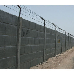 Prestressed Boundary Wall