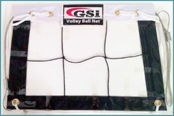 GSI White Netball Net, Size: 21 Inch long and 4mm