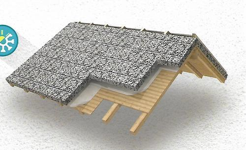 Light Weight Expanded Clay Agreegate Roof Insulating Tile