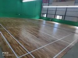 Read Teak Wood Badminton Court