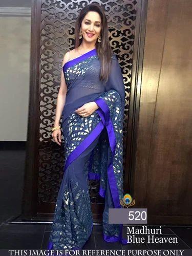 a8d9a7e32c Silk Party Wear Designer Bollywood Saree, Rs 1100 /piece, Jau ...