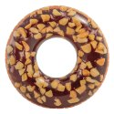 Inflatable Nutty Chocolate Donut Tube (Intex)