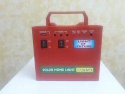 Solar Home Lite Combo Pack  Including 12 W  12V