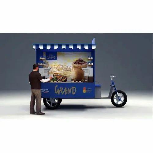 Non AC DC E Rickshaw Coffee Van, Seating Capacity: 2
