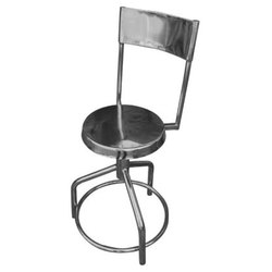 Chair Revolving Stool With Back Rest