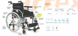 Ross Premium Aluminum Wheelchair