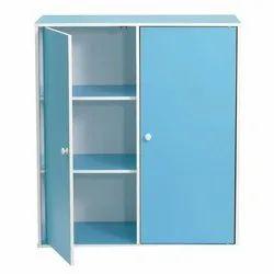 Blue Wooden Storage Cabinet