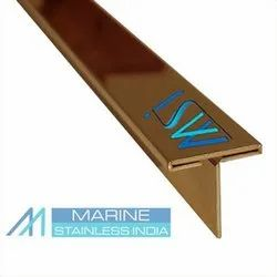 Stainless Steel PVD Coated Inlay T Patti