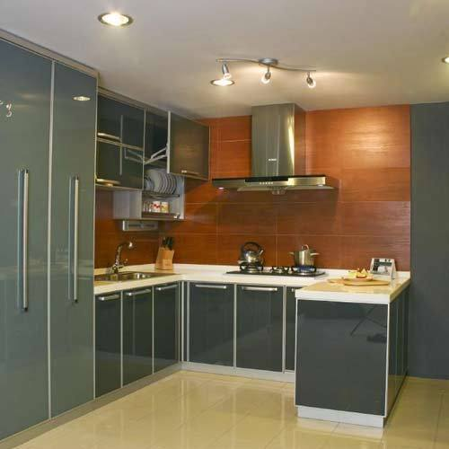 U Shaped Modular Kitchen at Rs 1500 /square feet | U Shape Modular ...