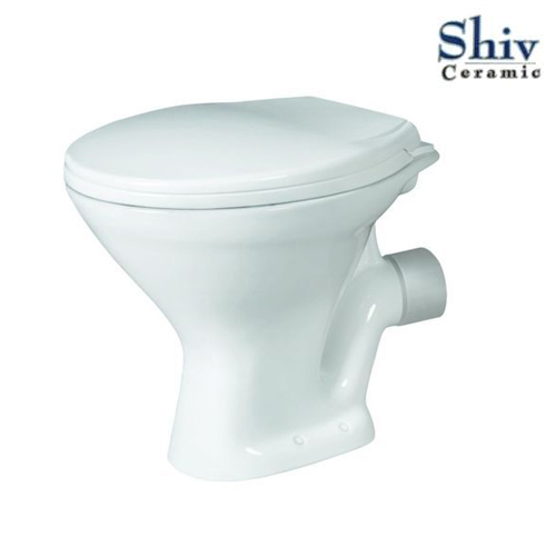 White Pebble Insignia Commode Toilet Seat