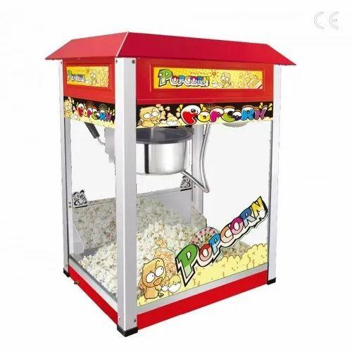 Electric Automatic 250g Pop Corn Machine 250 Gms Rs 8000 Piece Id 21353959997