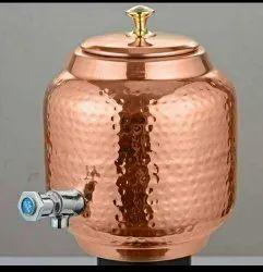 Copper Water Tank 8 Ltrs