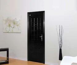 Wooden Finish Steel Door, For Home, Thickness: 14 Gauge
