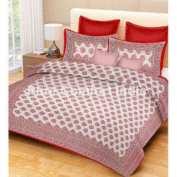 Floral Double Bedsheet