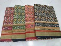 Cotton Prints With Blouse Saree
