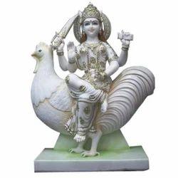 Marble Murgain Mata Statue
